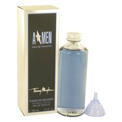 Angel Cologne by Thierry Mugler, 3.4 oz Eau De Toilette Eco Refill Bottle for Men