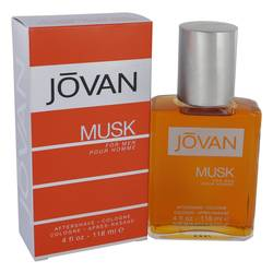 Jovan Musk Cologne by Jovan, 4 oz After Shave / Cologne for Men