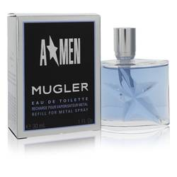 Angel Cologne by Thierry Mugler, 1 oz Eau De Toilette Spray Refill for Men