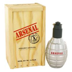 Arsenal Red Cologne by Gilles Cantuel, 100 ml Eau De Parfum Spray for Men