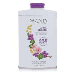 April Violets Talc by Yardley London, 207 ml Talc for Women