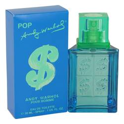 Andy Warhol Pop Cologne by Andy Warhol, 1 oz Eau De Toilette Spray for Men