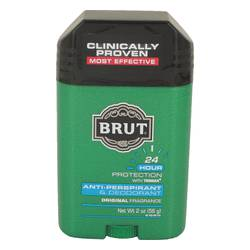 Brut Deodorant by Faberge, 2 oz 24 hour Deodorant Stick / Anti-Perspirant for Men