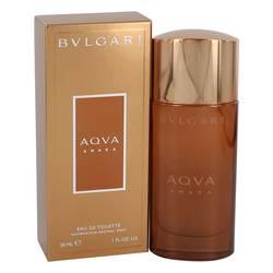 Bvlgari Aqua Amara Cologne by Bvlgari, 1 oz Eau De Toilette Spray for Men