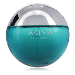 Aqua Pour Homme Cologne by Bvlgari, 3.4 oz EDT Spray (Tester) for Men