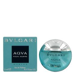 Bvlgari Aqua Marine Mini by Bvlgari, .17 oz Mini EDT for Men