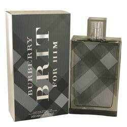 Burberry Brit Cologne by Burberry, 6.7 oz EDT Spray for Men