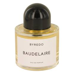 Byredo Baudelaire Cologne by Byredo, 100 ml Eau De Parfum Spray (Unisex-unboxed) for Men