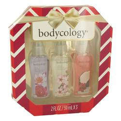 Bodycology Coconut Hibiscus Gift Set by Bodycology Gift Set for Women Includes Bodycology Set Includes Truly Yours, Cherry Blossom and Coconut Hibiscus all in 2.5 oz Body Sprays
