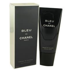 Bleu De Chanel Shave by Chanel, 100 ml Shaving Cream for Men