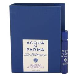 Blu Mediterraneo Ginepro Di Sardegna Sample by Acqua Di Parma, .04 oz Vial (sample) for Women