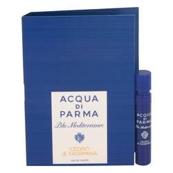 Blu Mediterraneo Cedro Di Taormina Sample by Acqua Di Parma, .04 oz Vial (sample) for Women