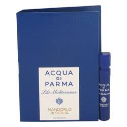 Blu Mediterraneo Mandorlo Di Sicilia Sample by Acqua Di Parma, .04 oz Vial (sample) for Women