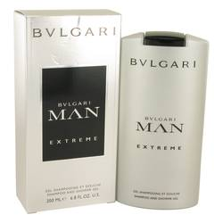 Bvlgari Man Extreme Shower Gel by Bvlgari, 6.8 oz Shower Gel for Men