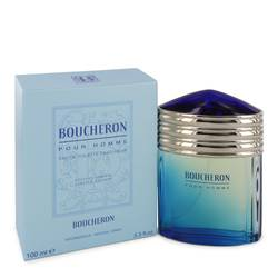 Boucheron Cologne by Boucheron, 3.4 oz Eau De Toilette Fraicheur Spray (Limited Edition) for Men