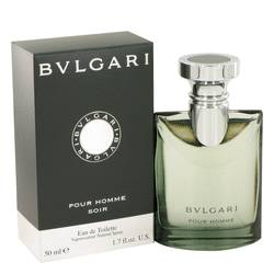 Bvlgari Pour Homme Soir Cologne by Bvlgari, 1.7 oz EDT Spray for Men