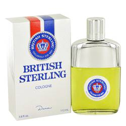 British Sterling Cologne by Dana, 3.8 oz Cologne for Men