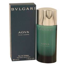 Aqua Pour Homme Cologne by Bvlgari, 1 oz EDT Spray for Men