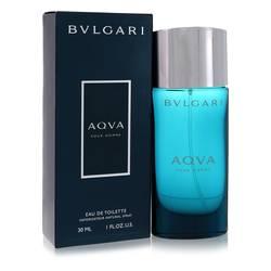 Aqua Pour Homme Cologne by Bvlgari, 1 oz EDT Spray for Men