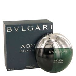 Aqua Pour Homme Cologne by Bvlgari, 3.3 oz EDT Spray for Men