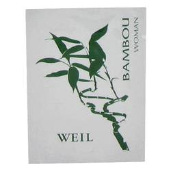 Bambou Accessories by Weil, .06 oz Perfume Wipes for Women