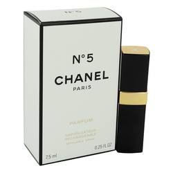 Chanel No. 5 Pure Perfume by Chanel, 7 ml Pure Perfume Refillable for Women