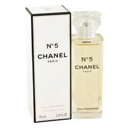 Chanel No. 5 Perfume by Chanel, 2.5 oz EDP Premiere Spray for Women