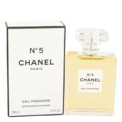 Chanel No. 5 Perfume by Chanel, 3.4 oz Eau De Parfum Premiere Spray for Women