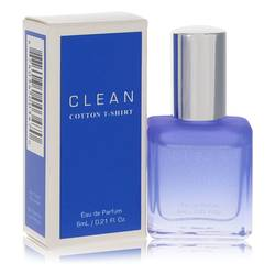 Clean Cotton T-shirt Mini by Clean, .21 oz Mini EDP for Women