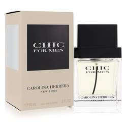 Chic Cologne by Carolina Herrera, 60 ml Eau De Toilette Spray for Men