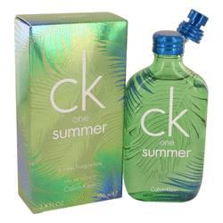 Ck One Summer Cologne by Calvin Klein, 3.4 oz EDT Spray (2016) for Men