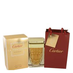 Cartier La Panthere Perfume by Cartier, 2.5 oz EDP Spray in Free Cartier Bag for Women