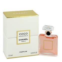 Coco Mademoiselle Pure Perfume by Chanel, .25 oz Pure Perfume for Women