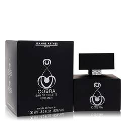 Cobra Cologne by Jeanne Arthes, 3.3 oz Eau De Toilette Spray for Men