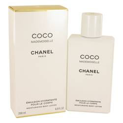 Coco Mademoiselle Body Lotion by Chanel, 6.8 oz Body Lotion for Women