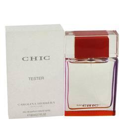 Chic Perfume by Carolina Herrera, 80 ml Eau De Parfum Spray (Tester) for Women