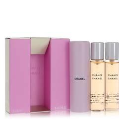 Chance Mini by Chanel, 3 x.7 oz Mini EDT Spray + 2 Refills for Women