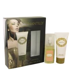 Chantilly Gift Set by Dana Gift Set for Women Includes 1 oz Eau De Cologne Spray + 2 oz Body Lotion