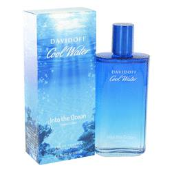 Cool Water Into The Ocean Cologne by Davidoff, 4.2 oz Eau De Toilette Spray for Men