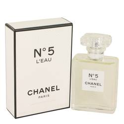 Chanel No. 5 L'eau Perfume by Chanel, 50 ml Eau De Toilette Spray for Women from FragranceX.com