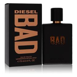 Diesel Bad Cologne by Diesel, 75 ml Eau De Toilette Spray for Men