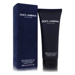 Dolce & Gabbana Shower Gel by Dolce & Gabbana, 6.8 oz Shower Gel for Men