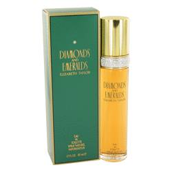 Diamonds & Emeralds Perfume by Elizabeth Taylor, 50 ml Eau De Toilette Spray for Women