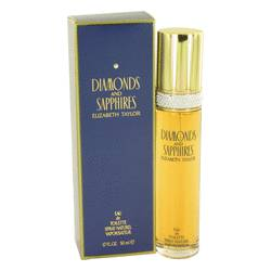 Diamonds & Saphires Perfume by Elizabeth Taylor, 1.7 oz Eau De Toilette Spray for Women