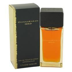 Donna Karan Gold Perfume by Donna Karan, 50 ml Eau De Toilette Spray for Women