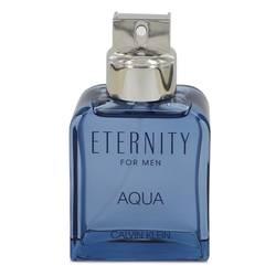 Eternity Aqua Cologne by Calvin Klein, 3.4 oz EDT Spray (Tester) for Men