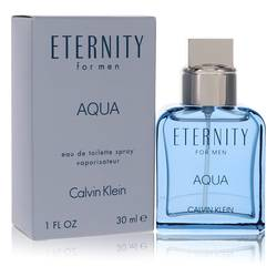 Eternity Aqua Cologne by Calvin Klein, 1 oz EDT Spray for Men