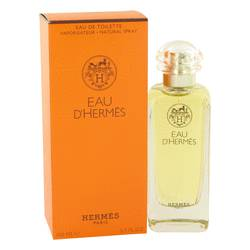 Eau D'hermes Cologne by Hermes, 3.4 oz Eau De Toilette Spray for Men