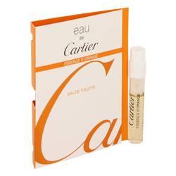 Eau De Cartier Essence D'orange Sample by Cartier, .05 oz Vial (sampe) for Men Cologne
