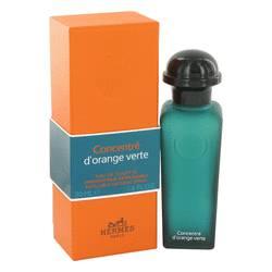 Eau D'orange Verte Perfume by Hermes, 1.6 oz Eau De Toilette Spray Concentre Refillable (Unisex) for Women